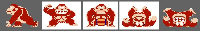 Donkey Kong sprite