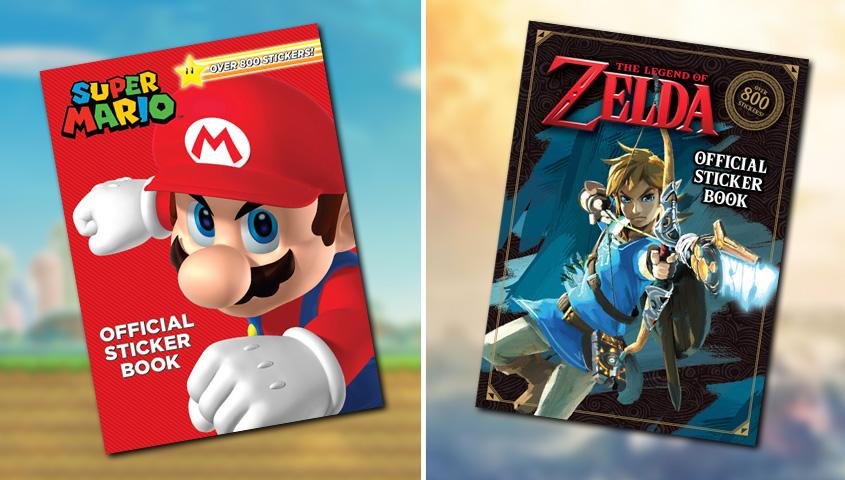 Libri adesivi Nintendo