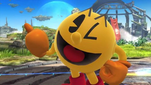 Pac-Man in Smash Bros. per Wii U