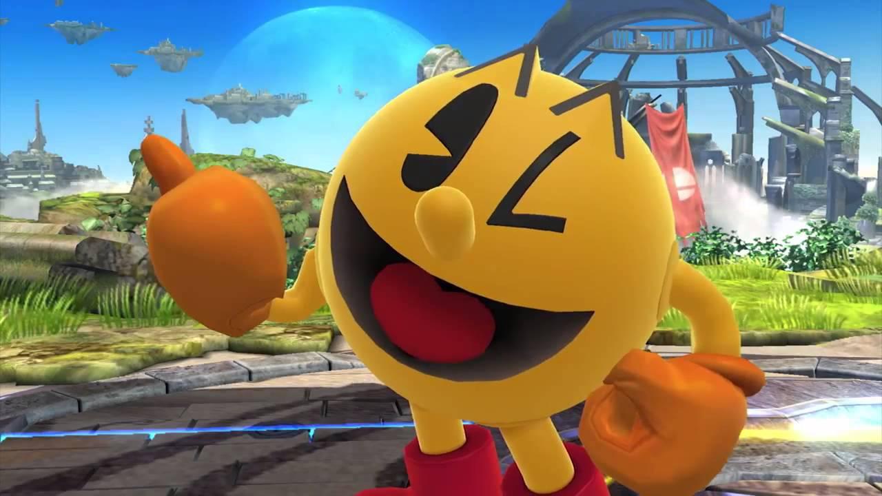 Pac-Man in Smash Bros. per Wii U