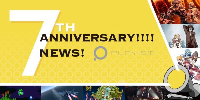 Playism 7 anniversario