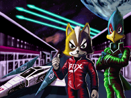 Star Fox Command Finale Grand Prix