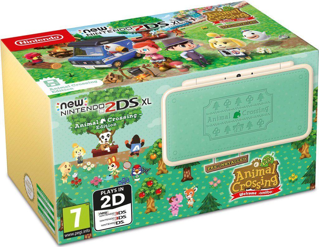 New Nintendo 2DS XL con Animal Crossing