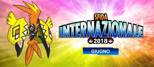 Sfida internazionale giugno 2018
