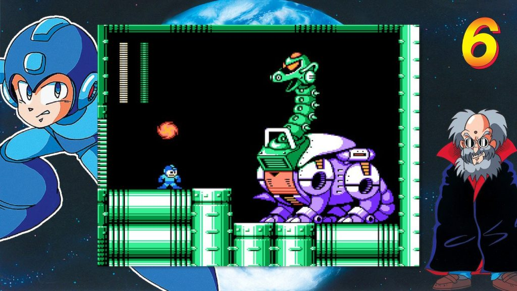 Boss in Mega Man Legacy Collection