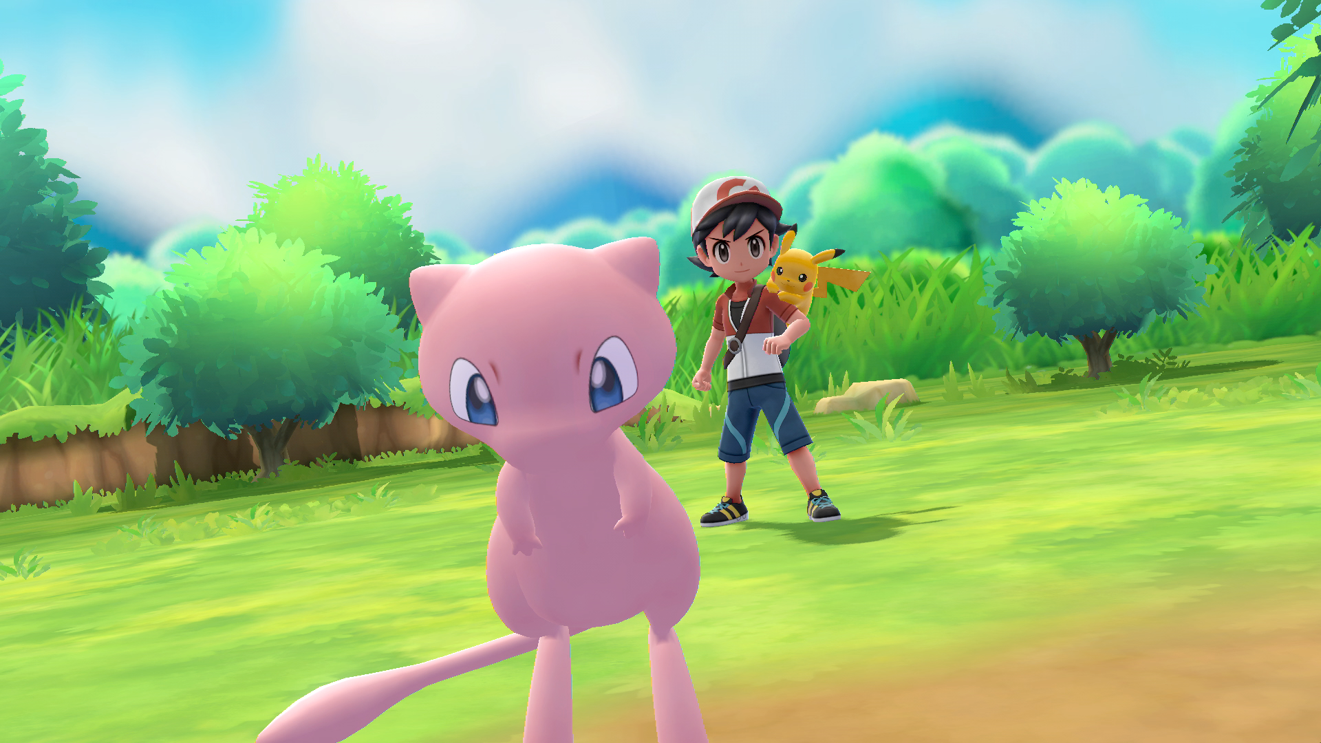 Mew Pokémon Let's Go