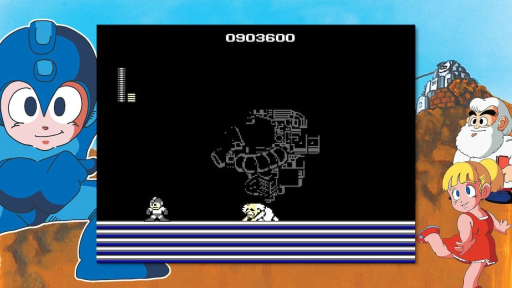Wily in Mega Man Legacy Collection