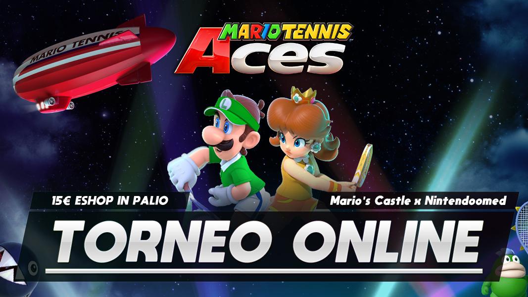Mario Tennis Aces Torneo Online