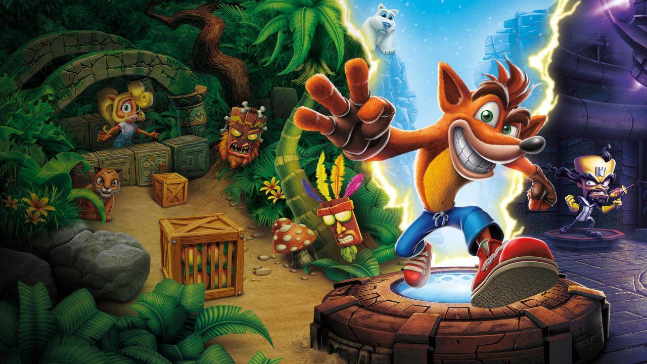 Crash Bandicoot: N. Sane Trilogy cover