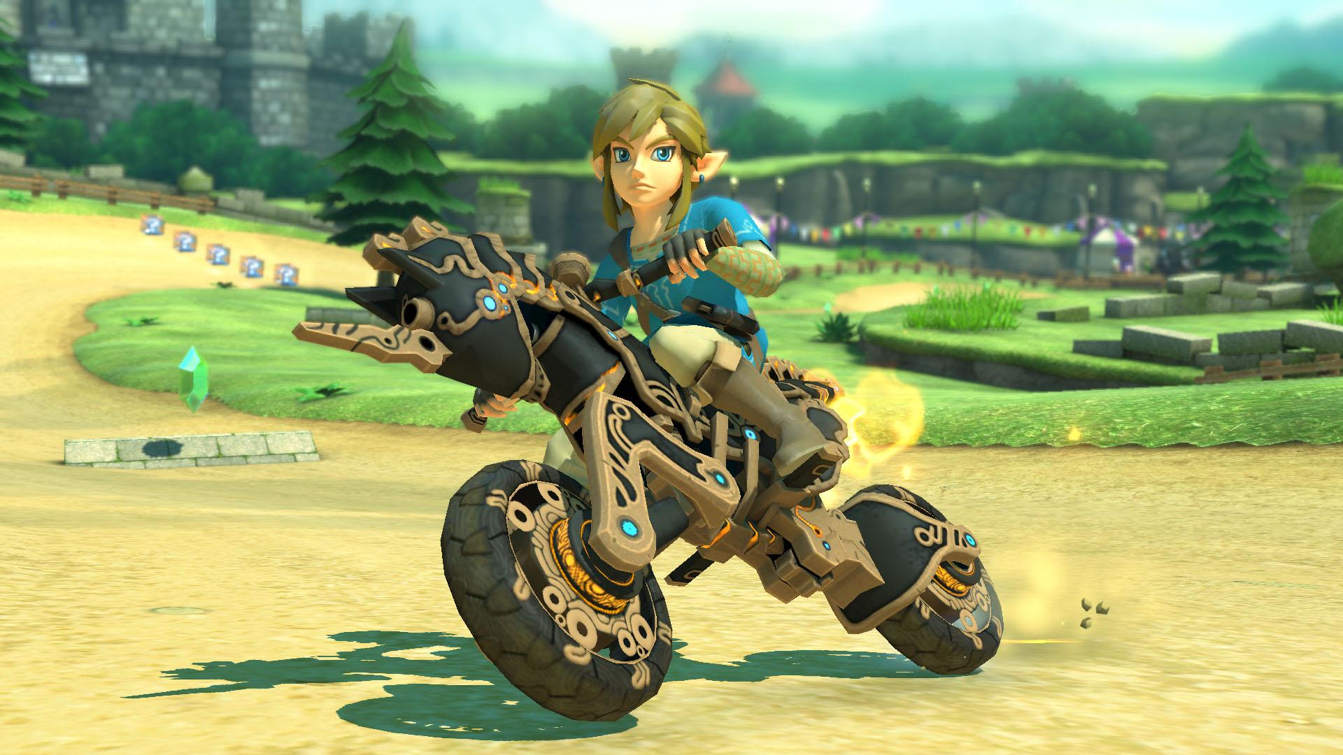 Link Mario Kart 8 Deluxe