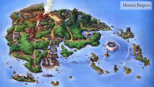 Mappa di Hoenn