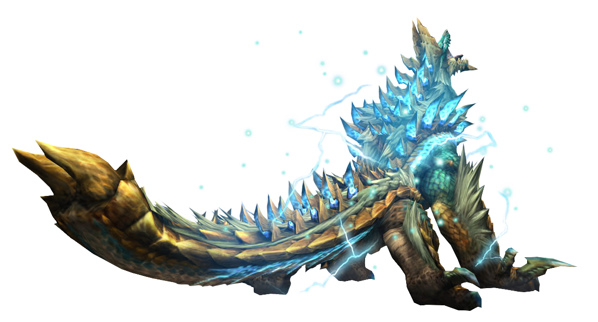Monster Hunter Zinogre
