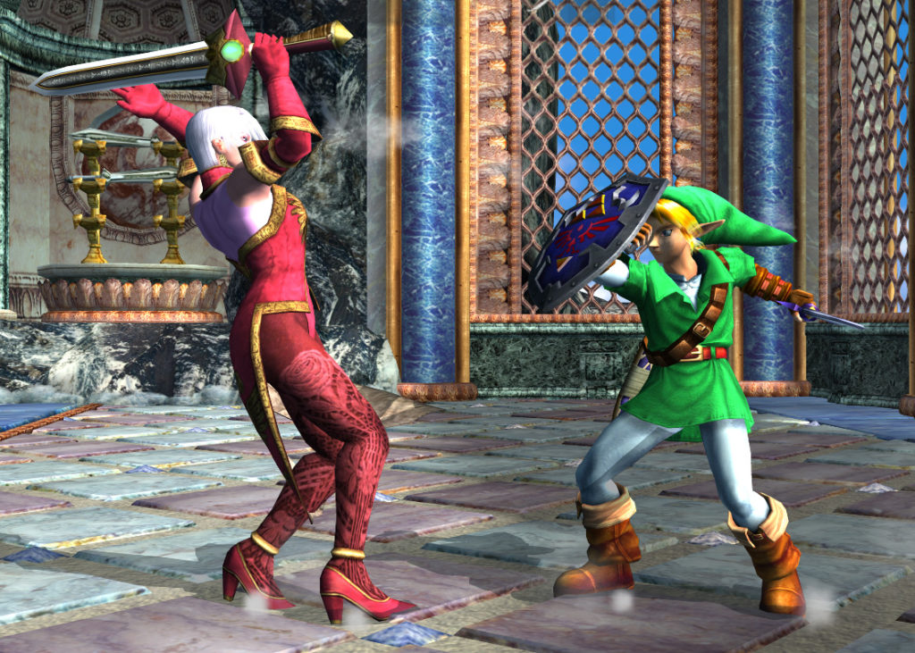 Link in Soul Calibur II
