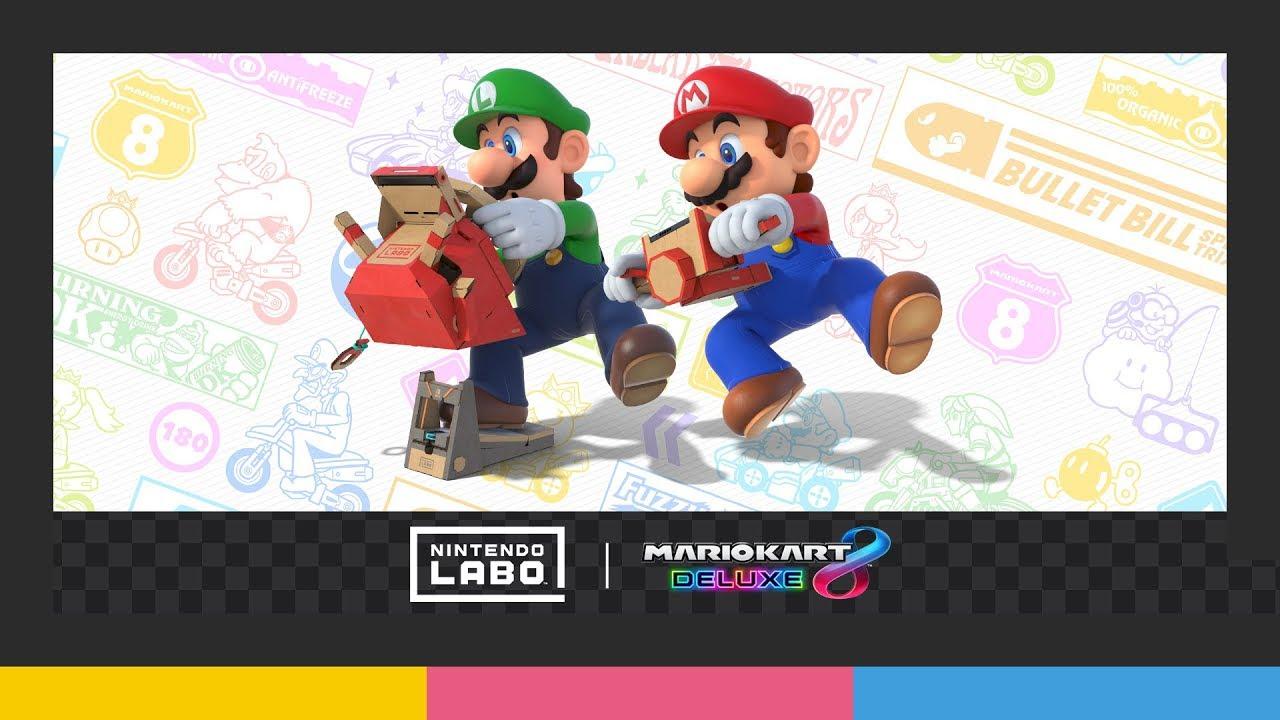 Mario Kart 8 Deluxe Nintendo Labo
