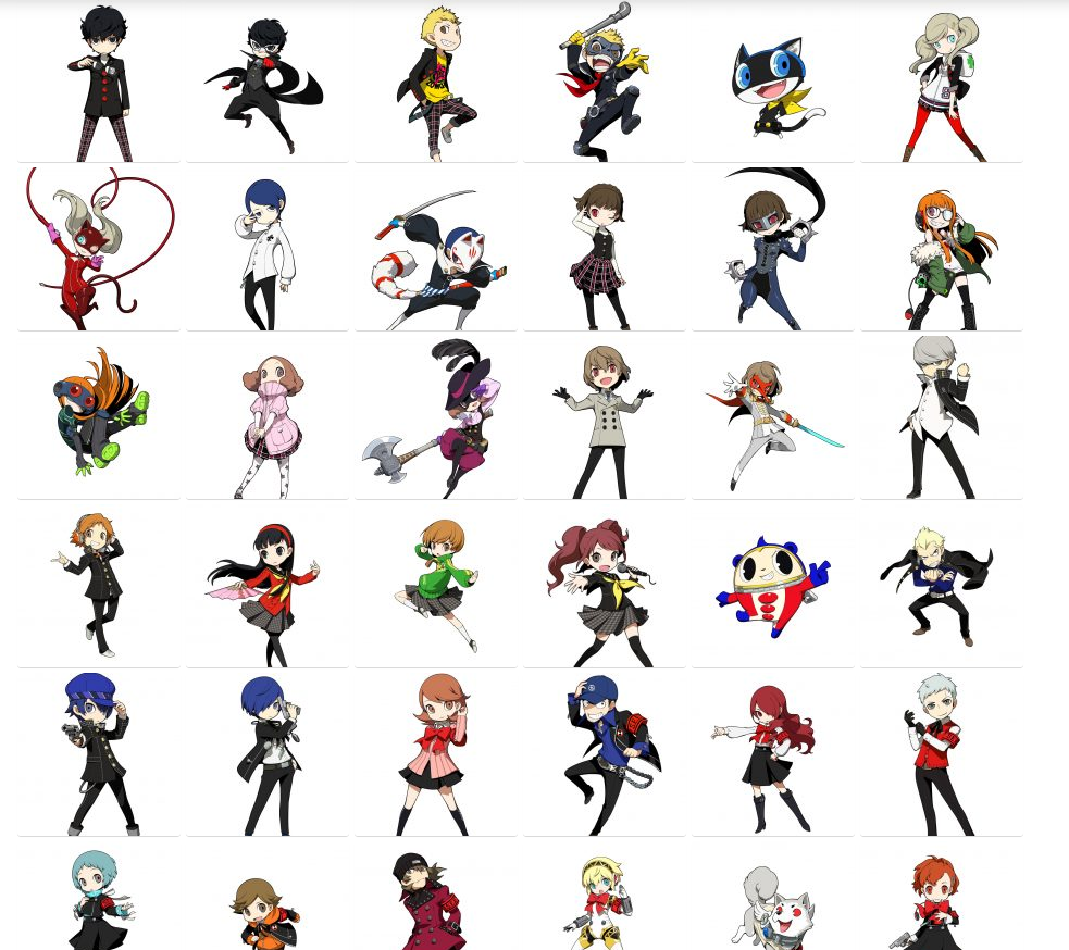Personaggi Persona Q2