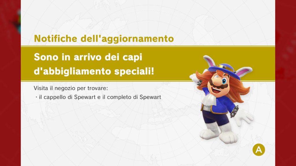 Spewart Super Mario Odyssey