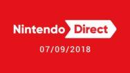 Nintendo Direct 7.9.18