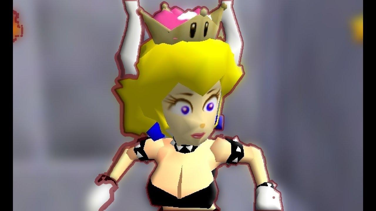 Bowsette Super Mario 64