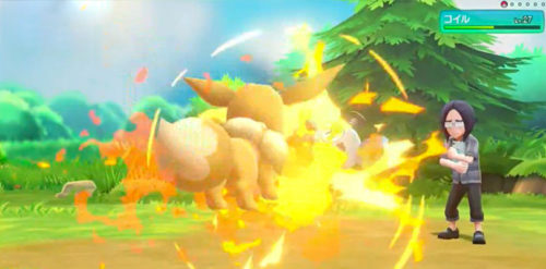 Pokémon Let's Go Pikachu Eevee