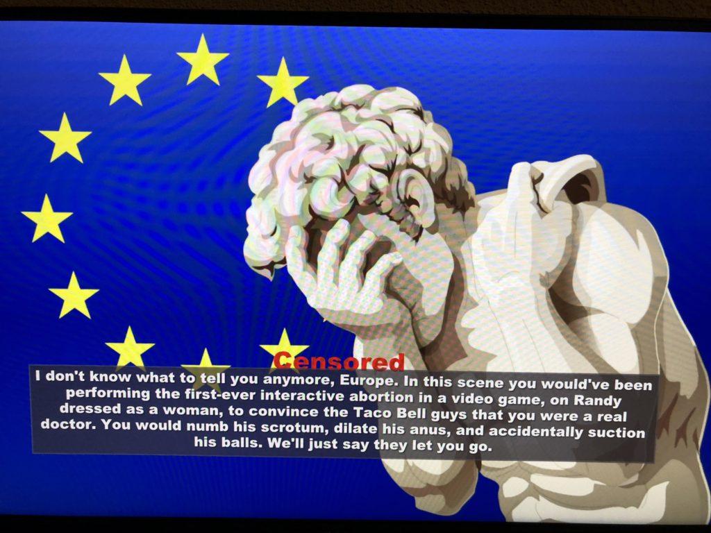 Censura South Park: Il Bastone della Verità