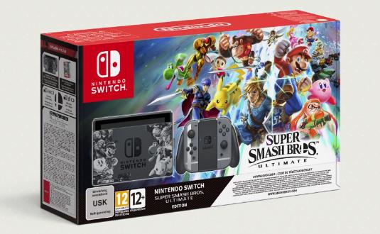 Super Smash Bros. Ultimate bundle amazon