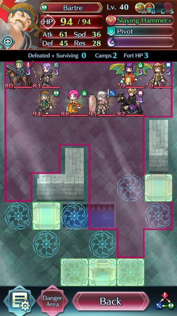 Fire Emblem Heroes Arena 1