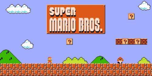Super Mario Bros. Title