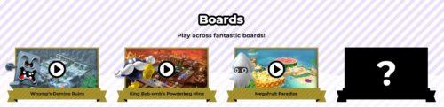 Super Mario Party Board