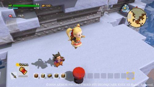 Dragon Quest Builders 2 Trampolino