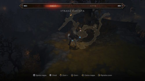 Mappa dell'area in Diablo III: Eternal Collection
