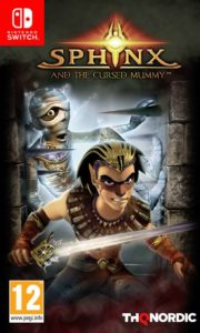 Sphinx and the Cursed Mummy Cover
