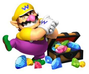 Wario Gemme Nintendo Switch