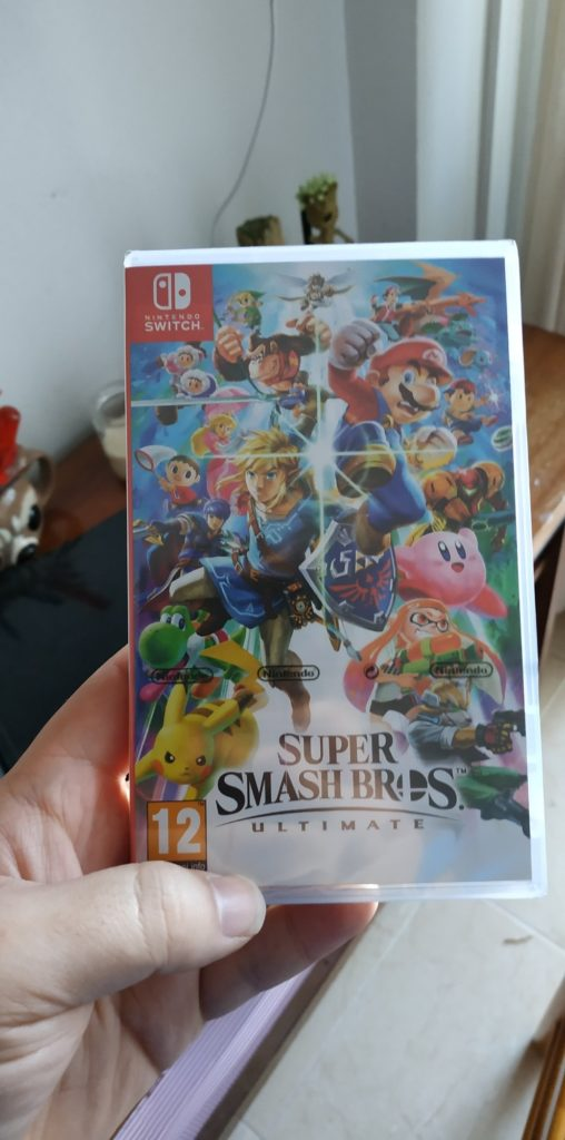 Super Smash Bros. Ultimate Day One rotto