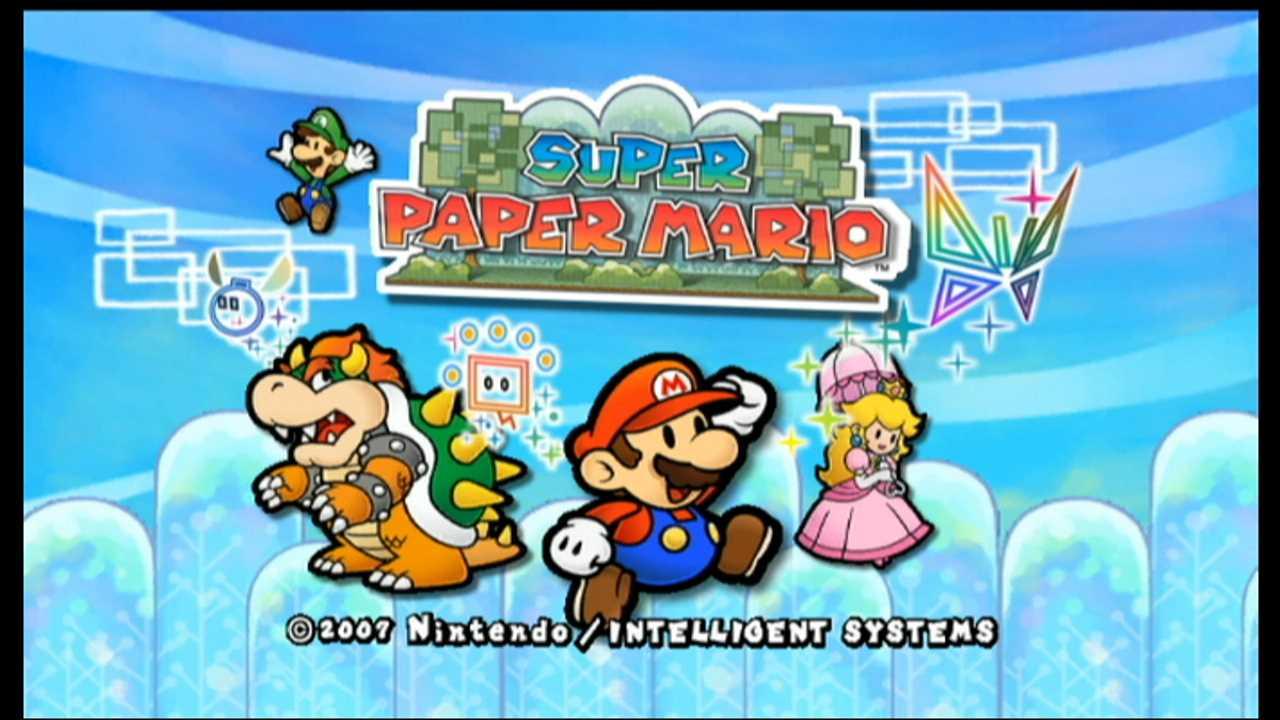 Super Paper Mario Cover