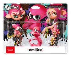 Scatola di  Nintendo Amiibo Splatoon 2 - Pack 3 in 1