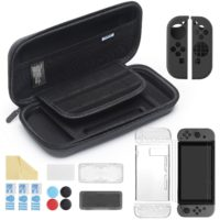Veduta dall'alto di  iAmer Kit 11 in 1 Accessori per Nintendo Switch