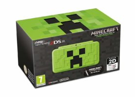 Scatola di  New Nintendo 2DS XL Creeper Edition + Minecraft: New Nintendo 3DS Edition - Limited