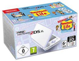 Scatola di  New Nintendo 2DS XL Bianco e Lavanda + Tomodachi Life