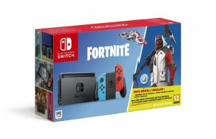 Scatola di Nintendo Switch Fortnite Edition - Limited