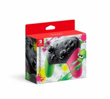 Scatola di  Nintendo Switch: Nintendo Switch Pro Controller - Splatoon 2 Edition - Limited