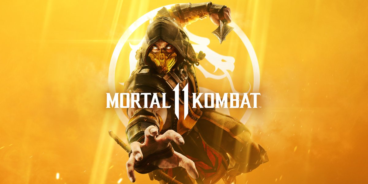 Mortal Kombat 11 locandina