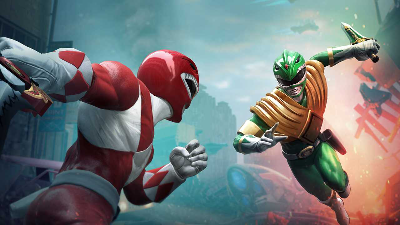Power Ranger Battle For The Grid