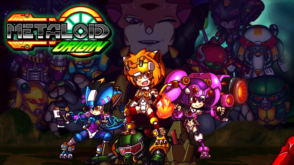 Metaloid: Origin Cover