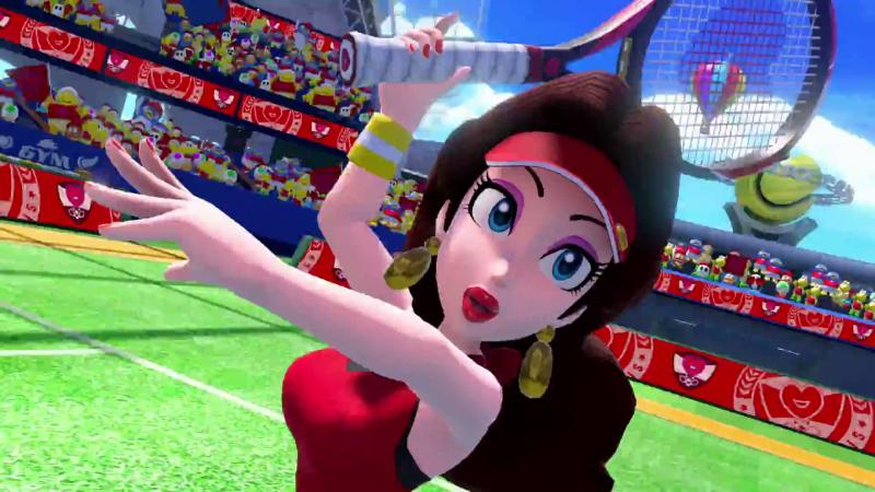 Mario Tennis Aces Pauline