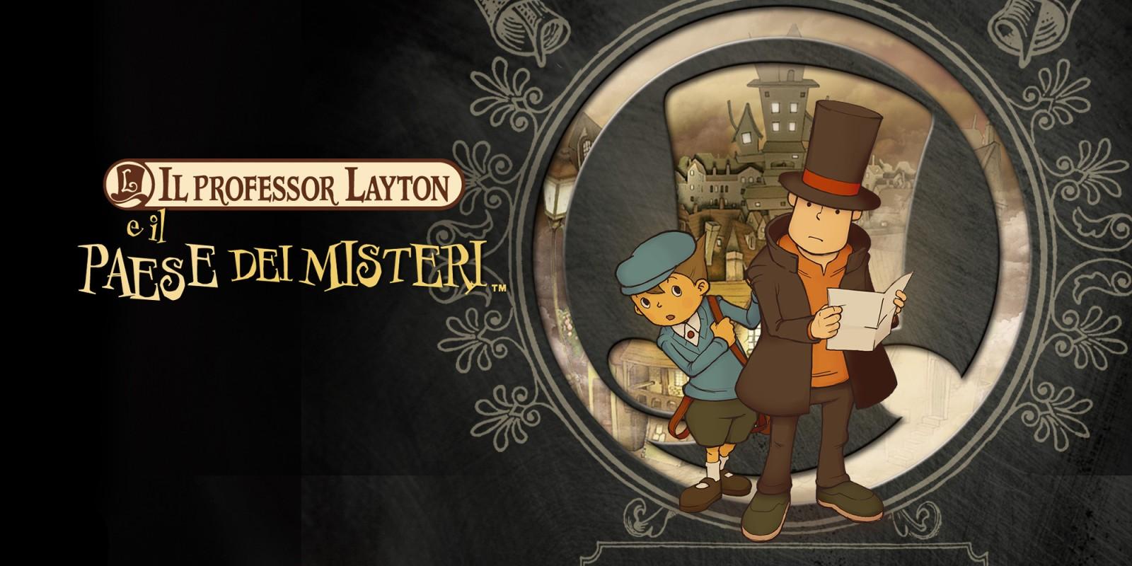 Professor Layton e il paese dei misteri Cover
