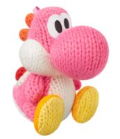 Scatola dell' Amiibo - Yoshi's Woolly World Collection Figur: Woll-Yoshi #pink