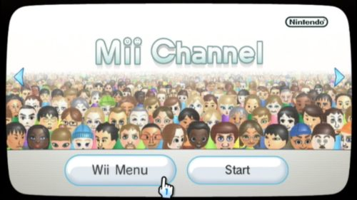 Wii Mii Channel Cover