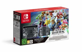 Scatola di Nintendo Switch, Edizione Speciale Super Smash Bros. Ultimate - Limited