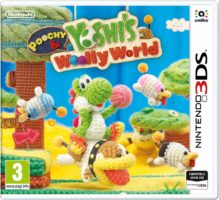 Copertina di  Poochy & Yoshi's Woolly World - Nintendo 3DS