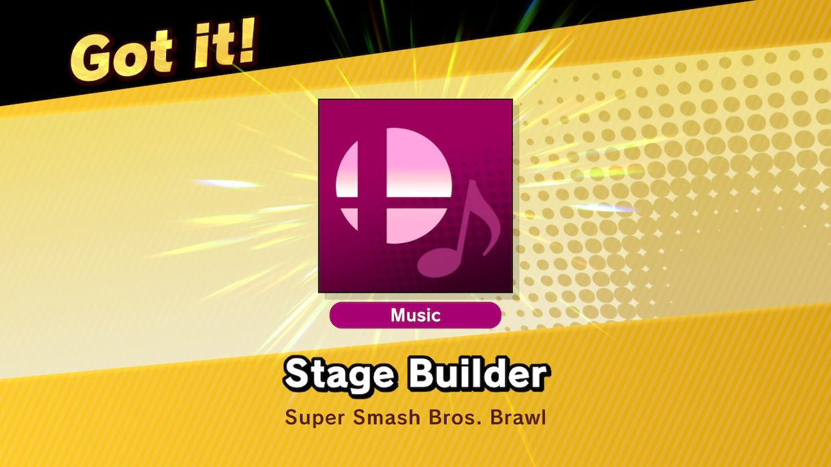 Stage Builder Super Smash Bros. Ultimate
